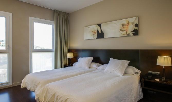 Habitación estándar con camas gemelas